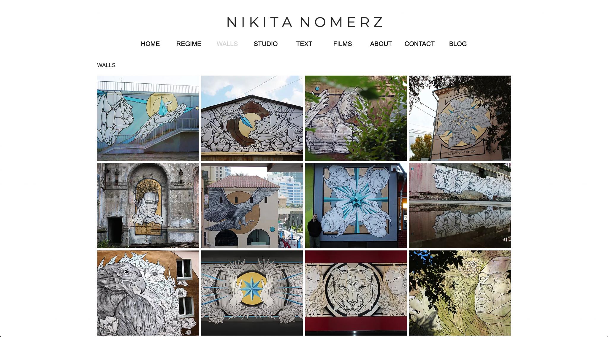 Цифровой архив российской уличной культуры – Никита Nomerz